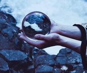 magic, crystal ball, and nature image