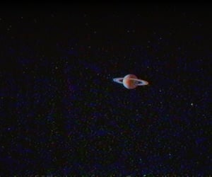 saturn, space, and planet image