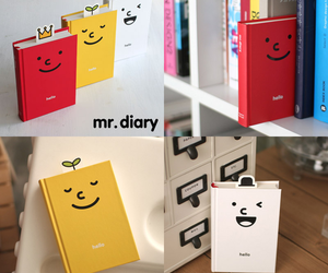 diary, kawaii, and red image