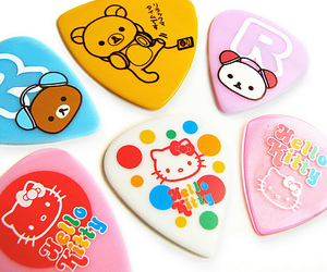 hello kitty, rilakkuma, and kawaii image
