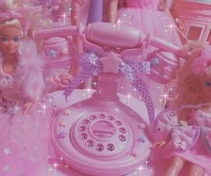 pink, aesthetic, and barbie image