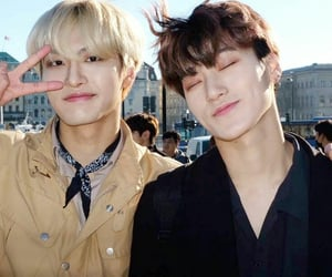 san, seonghwa, and ateez image