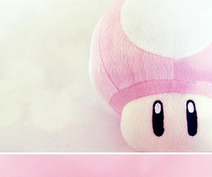 pink, cute, and mushroom image