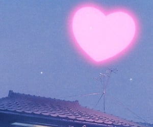 aesthetic, heart, and anime image