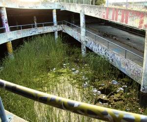 abandoned, australia, and graffiti image