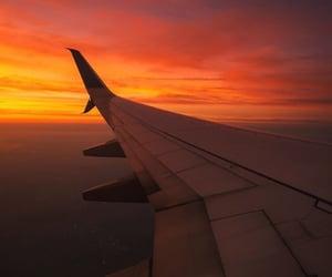 airplane, goals, and orange image