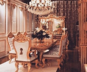 luxury, gold, and home image