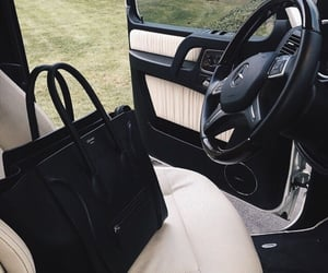 bag, car, and luxury image