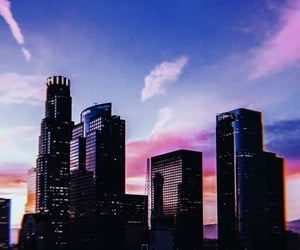 aesthetic, sunset, and city image