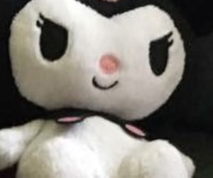 aesthetic, hello kitty, and goth image