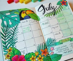 colors and bullet journal image