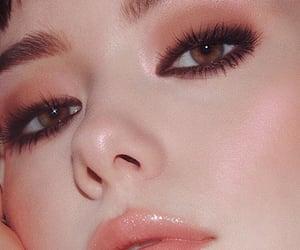 beautiful, lipgloss, and make up image