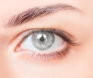 grey eyes image