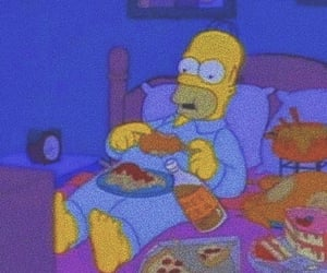 animation, food, and thesimpsons image