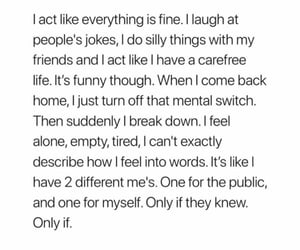 quotes, let me be, and relatable image