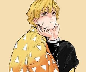 blush, anime boy, and kny image
