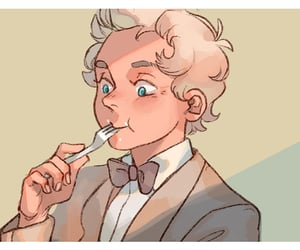 aziraphale and good omens image