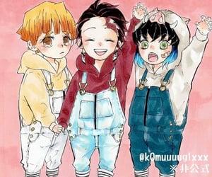 child, cry, and kimetsu no yaiba image