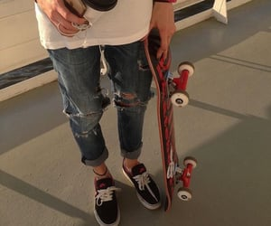 skate, style, and aesthetic image