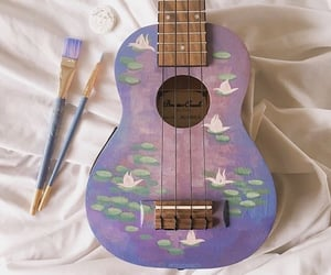 guitar, art, and aesthetic image