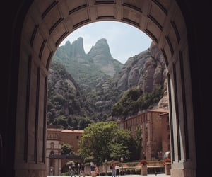 mountain, spain, and view image
