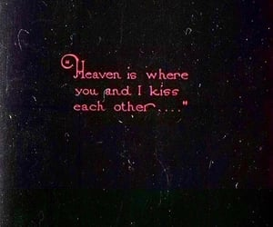 quotes, kiss, and love image