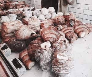 food, croissant, and bakery image
