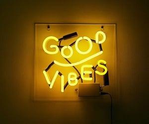 yellow, neon, and good vibes image