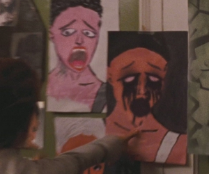 hysteria, natalie portman, and paintings image