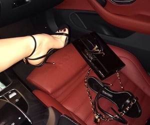 luxury, shoes, and car image