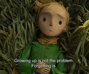 quotes, little prince, and sad image