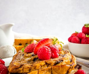 breakfast, french toast, and toast image