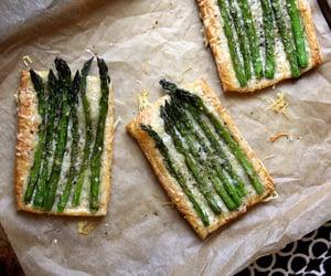 asparagus, food, and food porn image