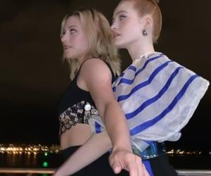 lili reinhart, madelaine petsch, and riverdale image
