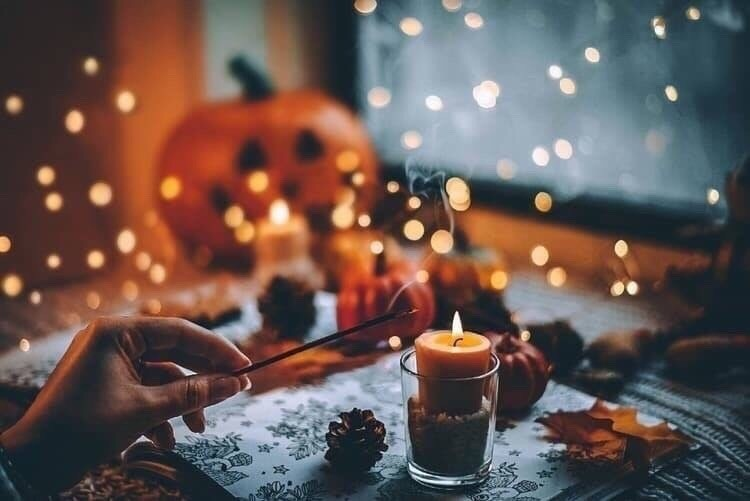 activities, cozy, and fall image