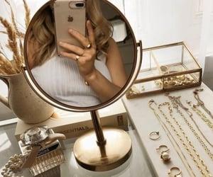 fashion, gold, and decor image