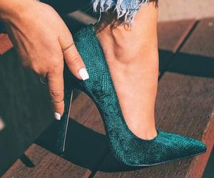 fashion, heels, and feet image