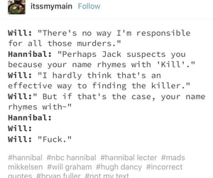 fandom, hannibal, and hilarious image