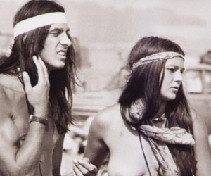 hippie, hippies, and couple image