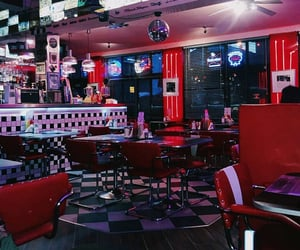 aesthetic, bar, and black image
