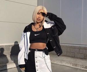 style, black, and nike image