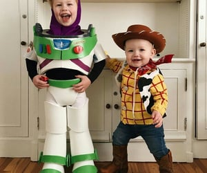 babie, toy story, and brother image