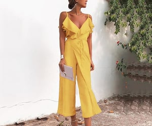 fashion, jumpsuit, and look image