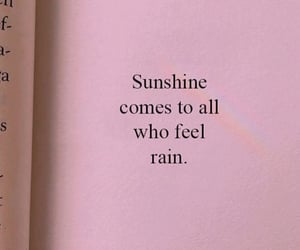 quotes, rain, and love image