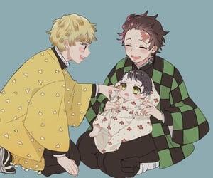 baby, child, and anime boy image