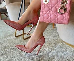 bag, designer, and shoes image