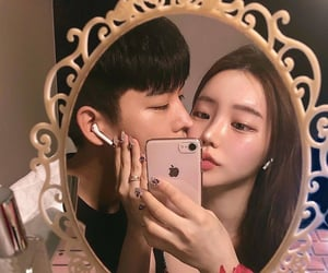 couple, korean, and roleplay image