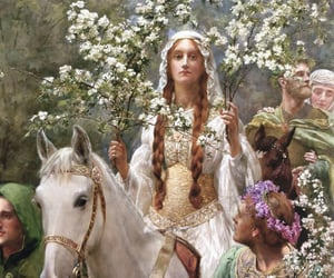 art, john collier, and painting image