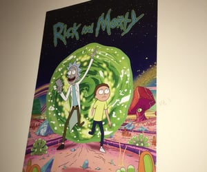 poster and rick and morty image