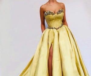 corset dress, dress, and fashion image